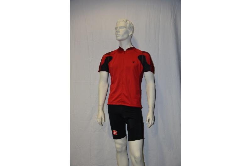 PEARL iZUMI dres krátký VERTEX červená