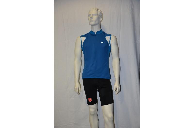 PEARL iZUMI dres krátký bez rukávů P.R.O. sleeveless modrá