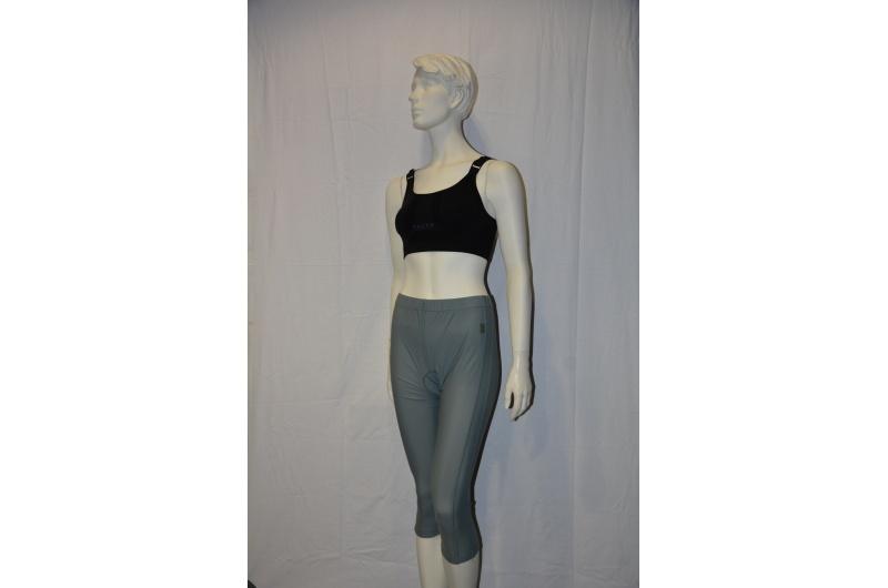 JEANTEX 3/4 kalhoty MARTINA šedá