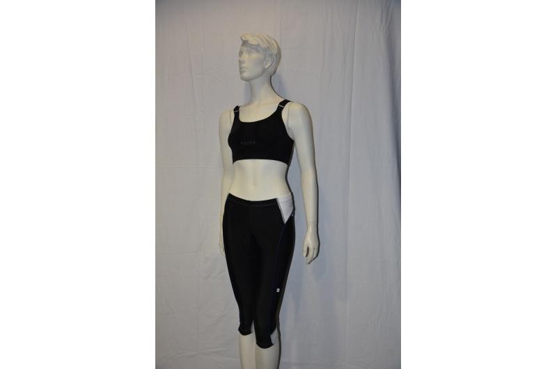 SPORTFUL 3/4 kalhoty ANAKONDA černá/bílá