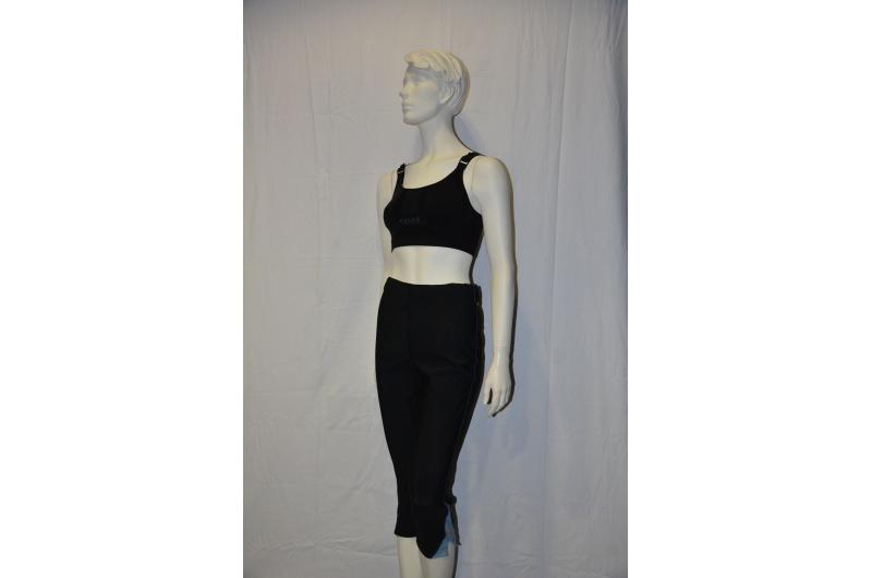 PEARL iZUMI 3/4 kalhoty SPLICE CHASE černá/modrá