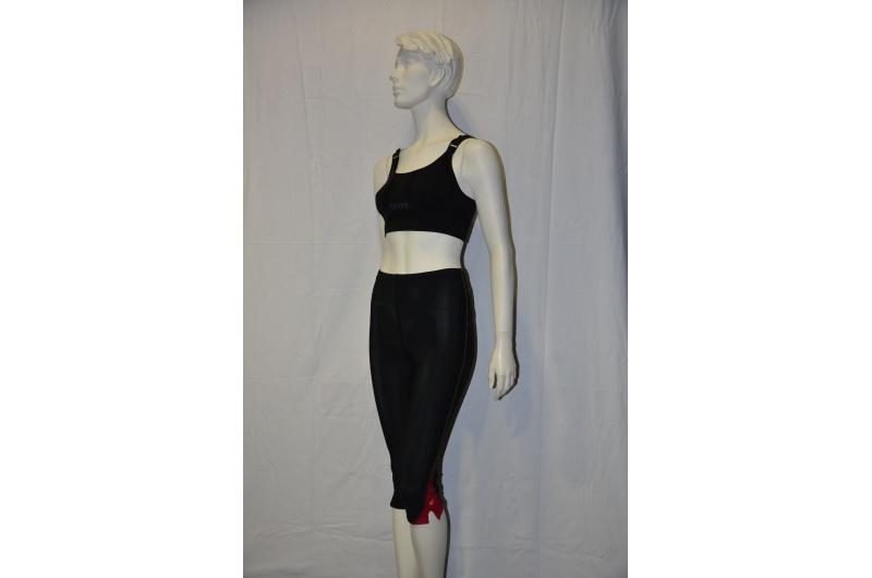 PEARL iZUMI 3/4 kalhoty SPLICE CHASE černá/červená