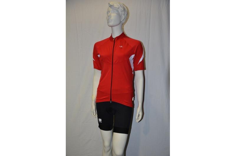 CASTELLI  krátký dres VUELTA červená