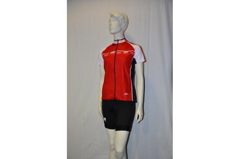 GSG dres krátký rukáv ECLIPSE červená