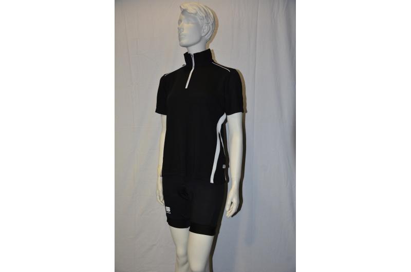 JEANTEX dres krátký rukáv LORELLA černá