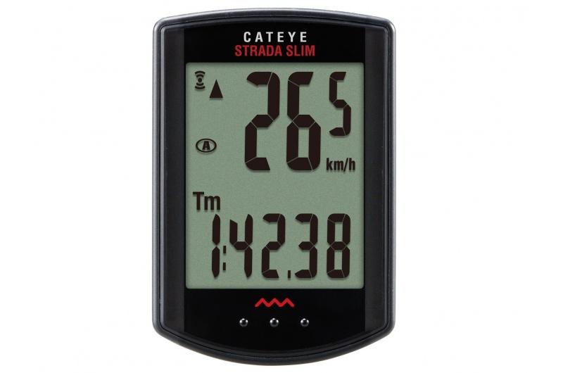 CATEYE Cyklopočítač CAT Strada Wireless - MTB (RD310W) - černá