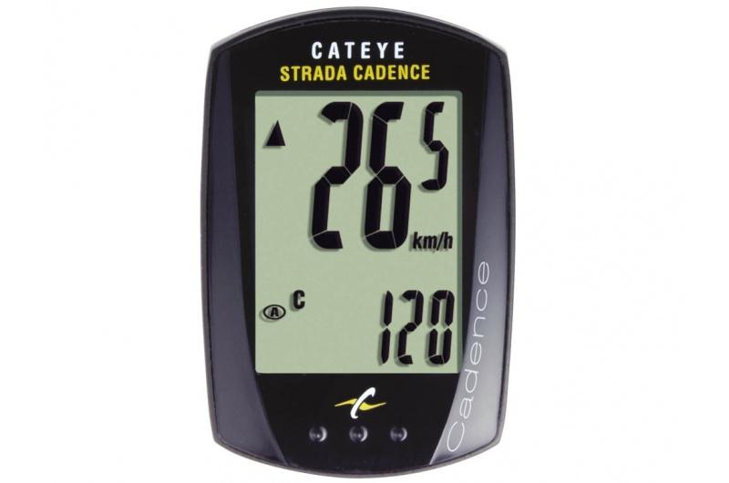 CATEYE Cyklopočítač CAT Strada kadence (RD200) - černá