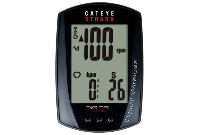 CATEYE Cyklopočítač CAT Strada Digital Wireless (RD410DW) - černá