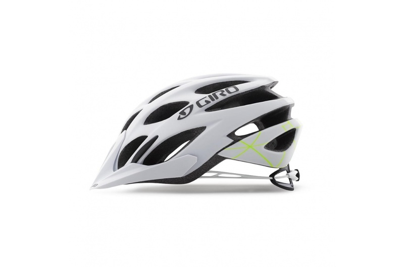 GIRO přilba Phase Mat White/Lime 2018