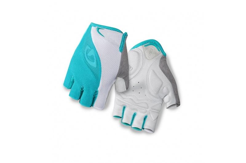 GIRO rukavice TESSA Turquoise white 2018