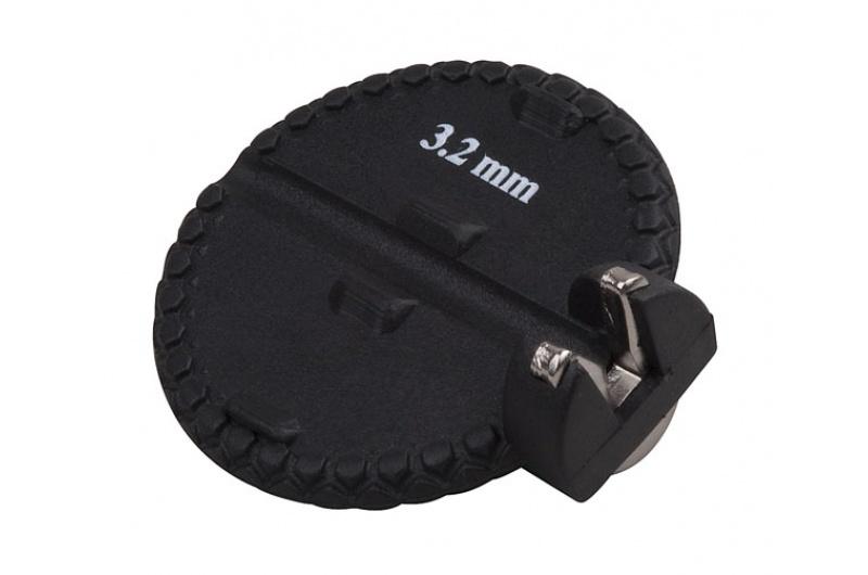 Centrklíč PRO-T černý pro nipl 3,2mm