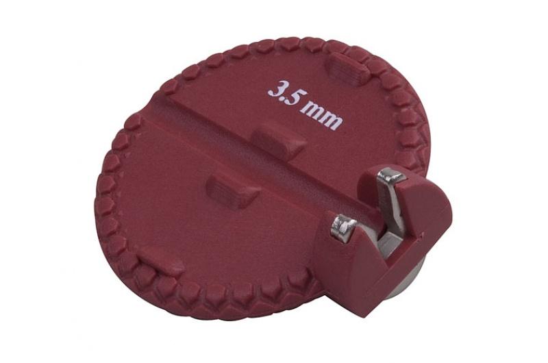 Centrklíč PRO-T červený pro nipl 3,5mm