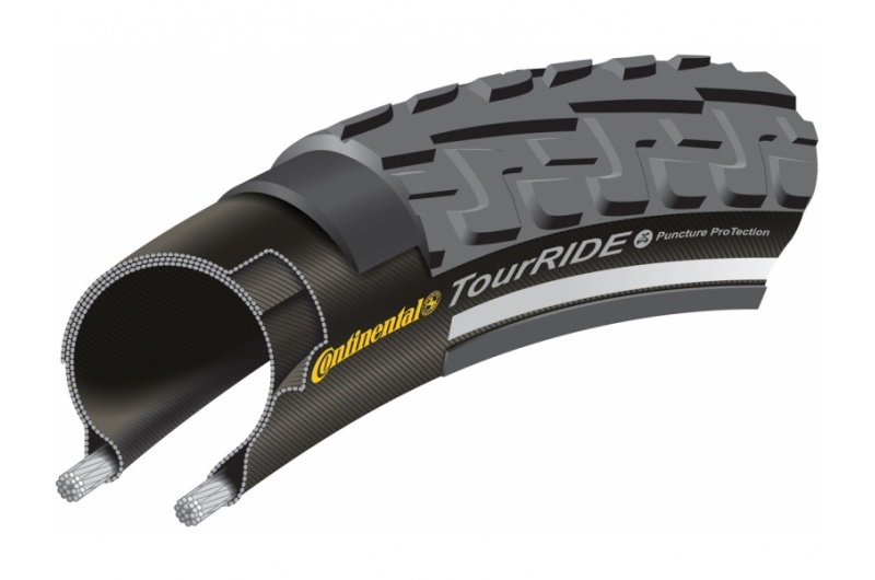 "PLÁŠŤ CONTINENTAL RIDE TOUR 28""X1.25/42-622"