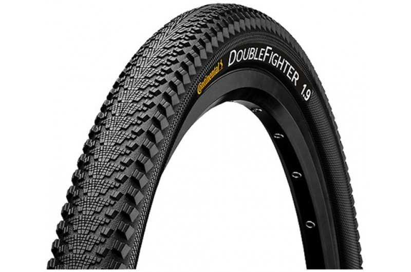 "CONTINENTAL ""Double Fighter III"" - 28 x 2.0 50-622	Double Fighter III black Reflex"