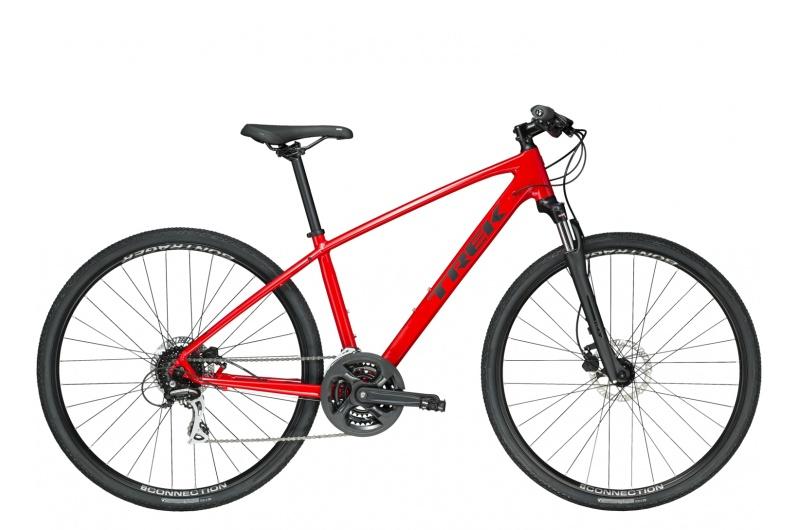 TREK trekingové kolo Dual Sport 2 2019 Viper Red