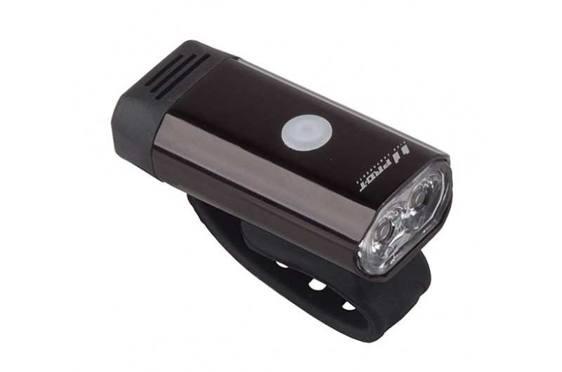 Světlo přední PRO-T Plus 500 Lumen 6 Watt LED dioda nabíjecí přes USB kabel 222