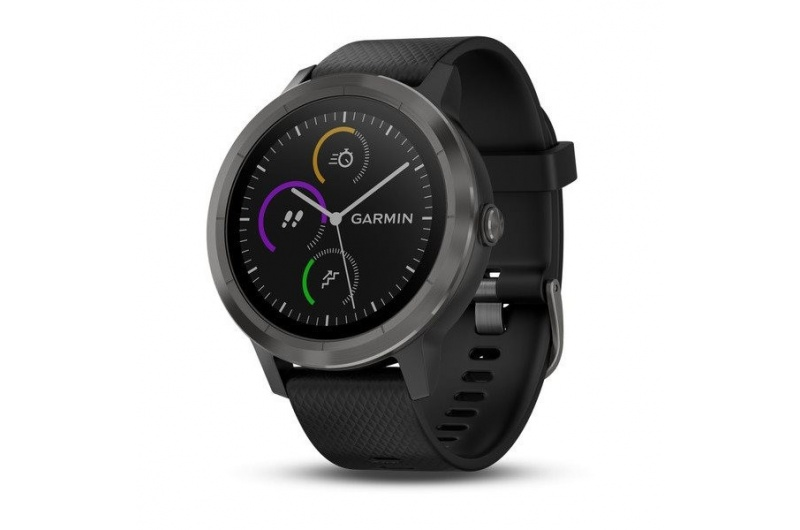 GARMIN vívoactive3 Optic Grey PVD, Black band