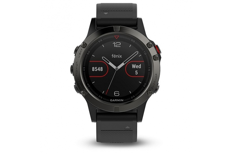 GARMIN fenix5 Gray, Black band