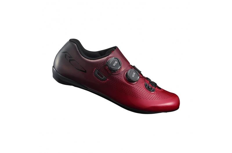 SHIMANO cyklistické tretry SH-RC701 červená