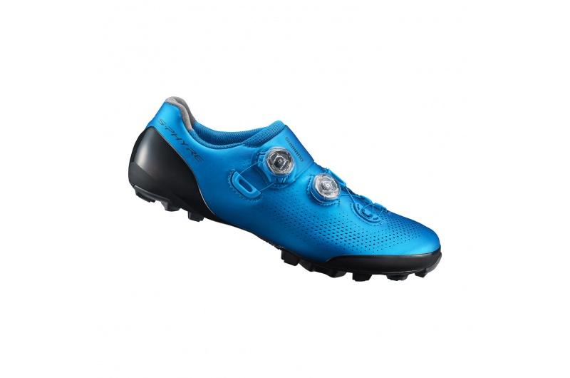 SHIMANO cyklistické tretry SH-XC901 modrá