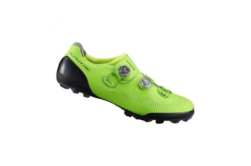 SHIMANO cyklistické tretry SH-XC901 zelená