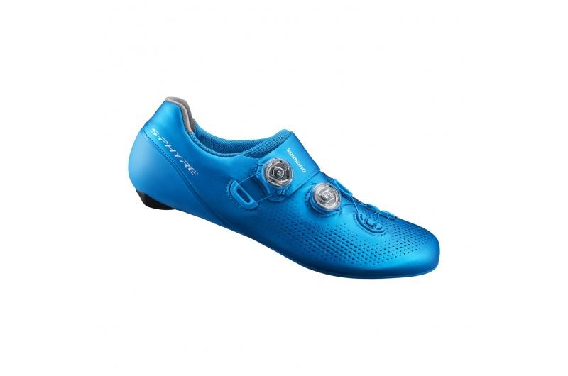 SHIMANO cyklistické tretry SH-RC901 modrá