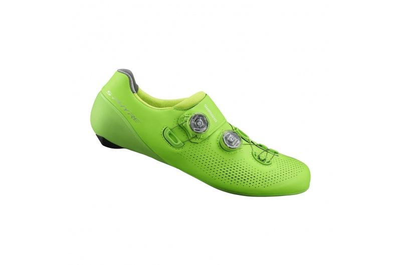 SHIMANO cyklistické tretry SH-RC901 zelená