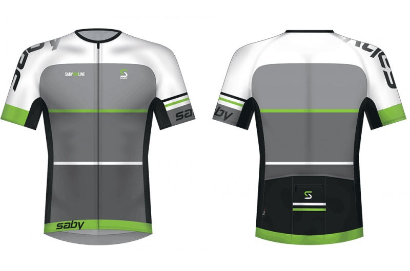 SABY dres krátký PRO LINE zelená