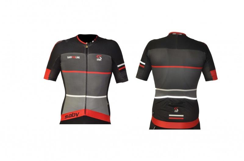 SABY dres krátký PRO LINE červená