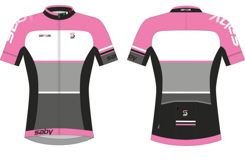 SABY dres krátký dámský PRO LINE růžová