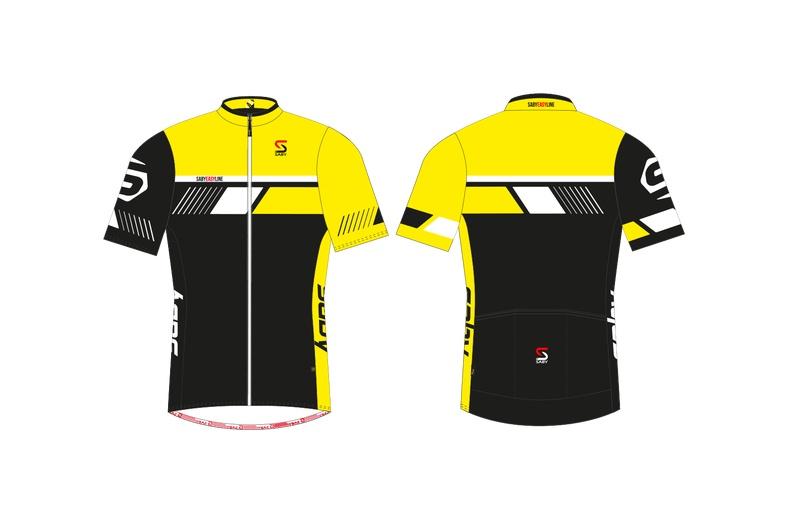 SABY dres krátký EASY LINE žlutá
