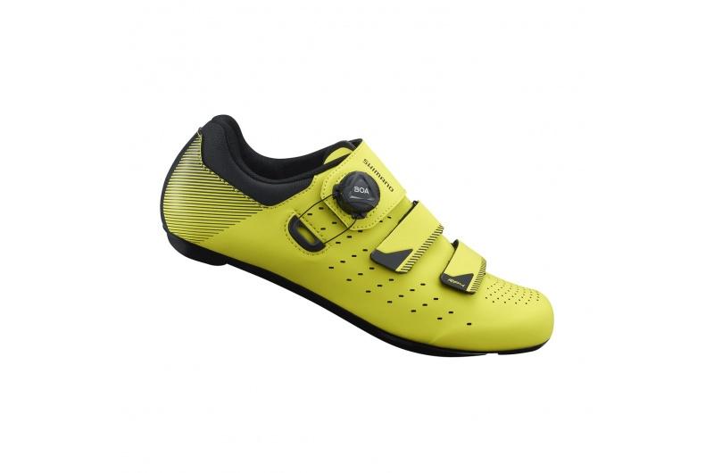 silniční cyklistické tretry Shimano SH-RP400 neonová žlutá