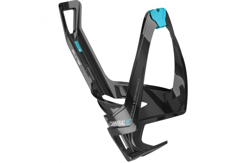 ELITE košík CANNIBAL černý/modrý lesklý