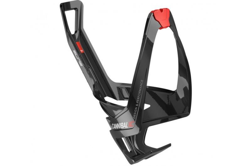 ELITE košík CANNIBAL černý/červený lesklý