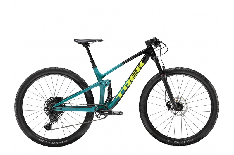 TREK horské kolo Top Fuel 9.7 2020 Trek Black to Teal Fade