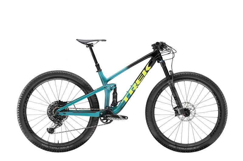 TREK horské kolo Top Fuel 9.8 2020 Trek Black to Teal Fade