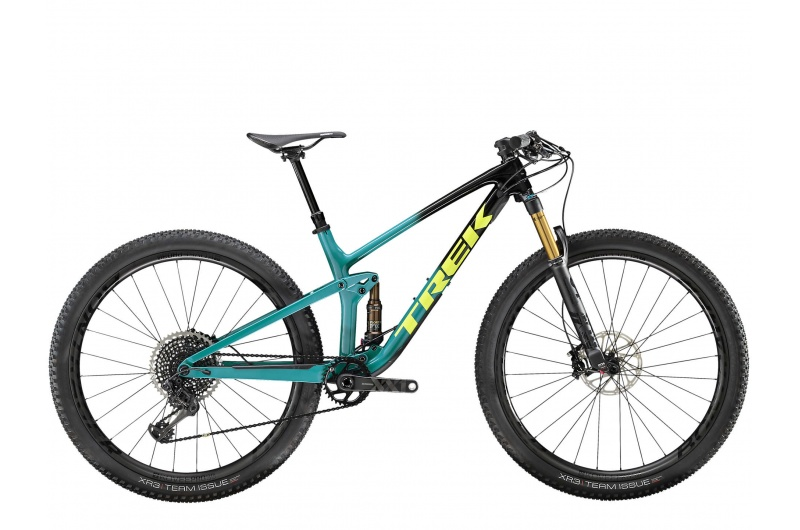 TREK horské kolo Top Fuel 9.9 2020 Trek Black to Teal Fade