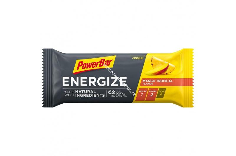 PowerBar Energize tyčinka - mango/ananas 55 g