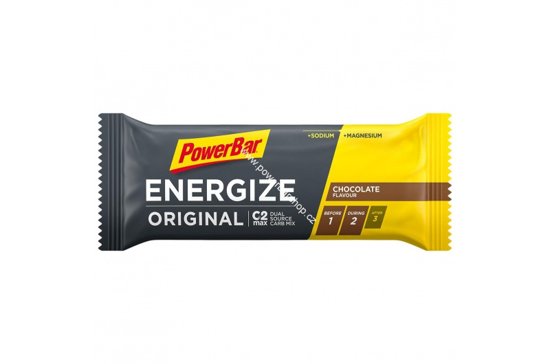 PowerBar Energize tyčinka - čokoláda 55 g