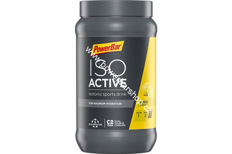 PowerBar IsoActive - citron 600 g
