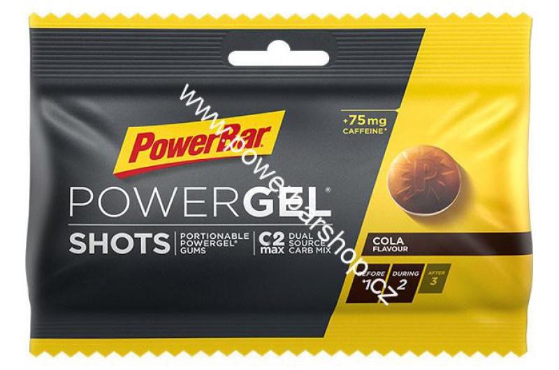 PowerBar Energize SportShots - cola+kofein 60 g