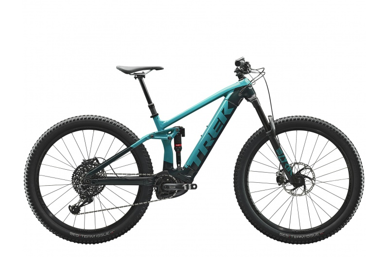 TREK elektrické kolo Rail 9 Teal/Nautical Navy