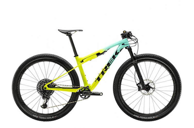 TREK horské kolo Supercaliber 9.8 2020 Miami Green to Volt Fade