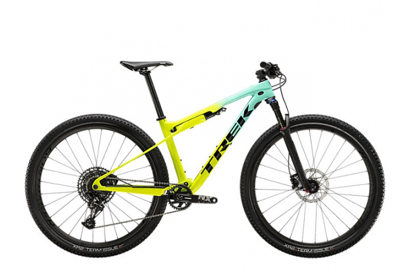 TREK horské kolo Supercaliber 9.7 2020 Miami Green to Volt Fade