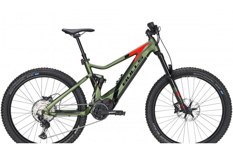 BULLS elektrokolo E-Stream EVO AM3 27,5 Plus 750Wh 2020