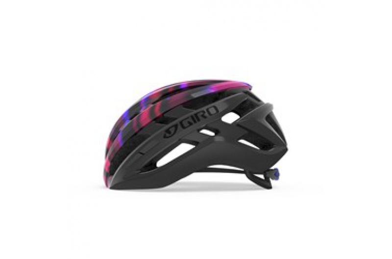 GIRO přilba Agilis W Mat Black/Electric Purple 2020