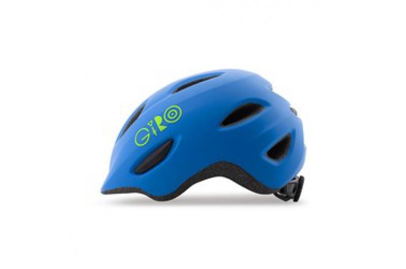 GIRO přilba Scamp Mat Blue/Lime S 2021