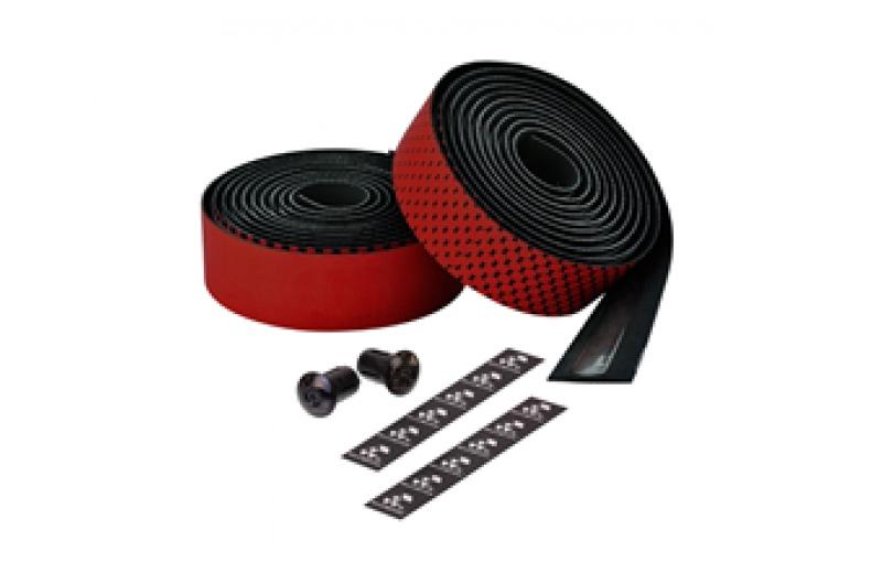 Ciclovation omotávka Leather Touch Fusion černá/červená