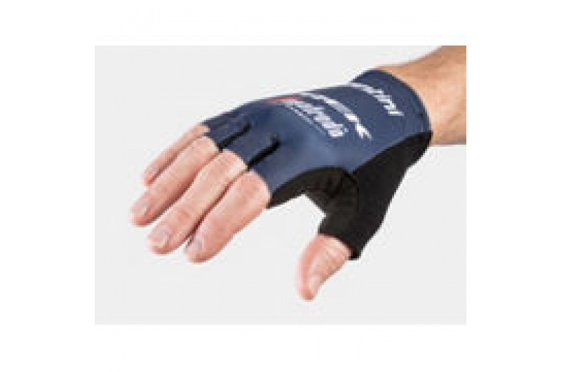 Glove Santini Trek-Segafredo Team X-Large Dark Blue