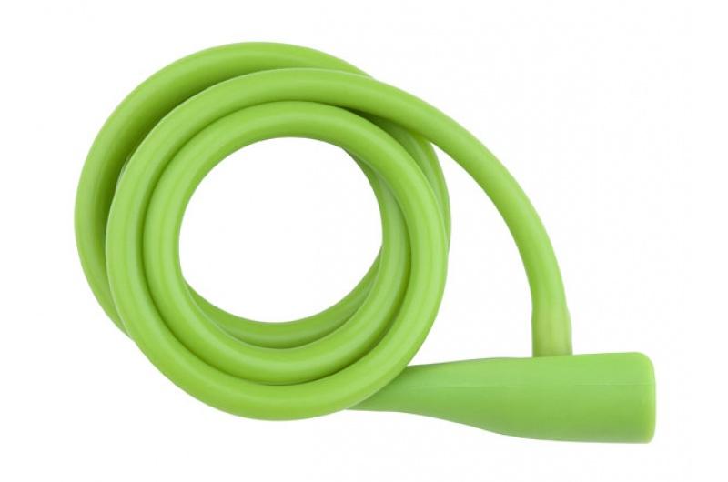 Zámek spirála PRO-T Plus M10 x 135cm Silicone zelená